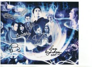 """The Hub"" Torchwood signed by Gareth, David Lloyd,kia Owen, Paul Kasey plus 4 more"